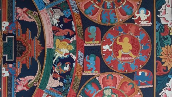 lok chitrakar room